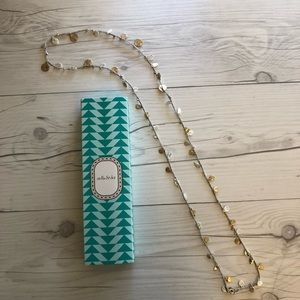 NIB Stella & Dot Setta Medallion Necklace